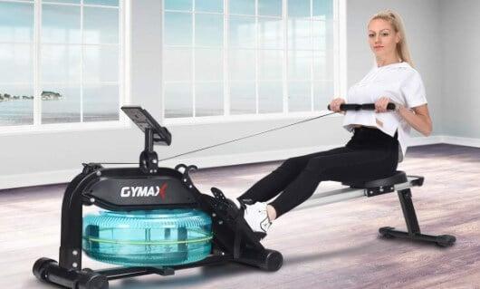 Goplus Water Rowing Machine