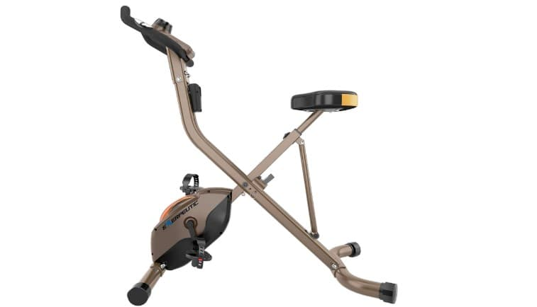 Exerpeutic GOLD 500 XLS Foldable Upright Bike