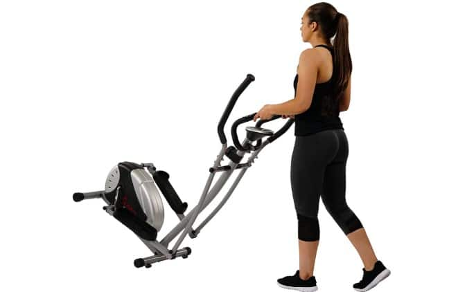 Sunny Health & Fitness Magnetic Elliptical Machine Trainer SF-E905