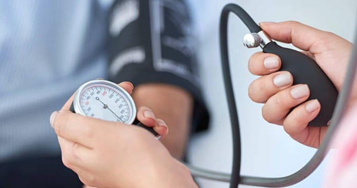 Blood pressure after exercise