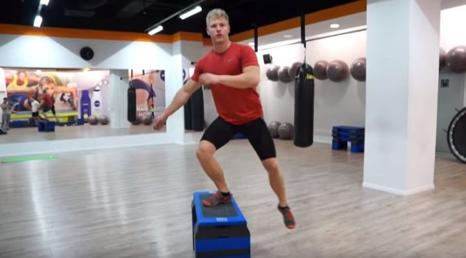 Step up exercise for weight loss