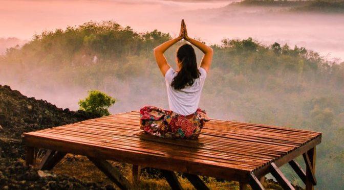 Yoga warm up exercise