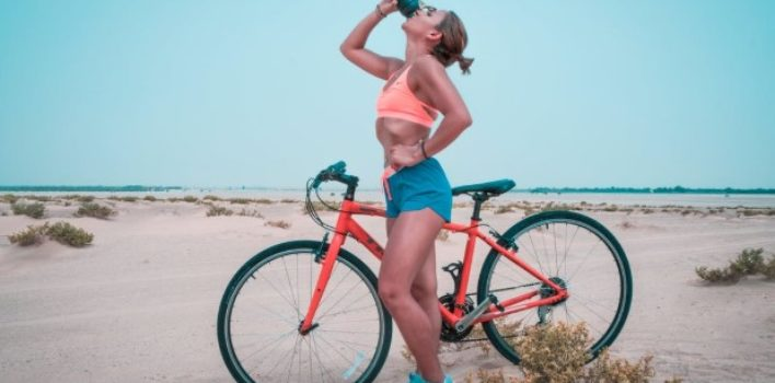 How many Calories burned riding exercise bike in one hour?