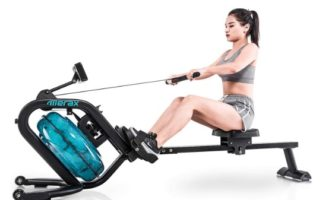 Merax Water Rowing Machine reviews | Cheap Water rower 2019