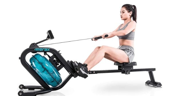 Merax Water Rowing Machine reviews | Affordable Water rower 2019