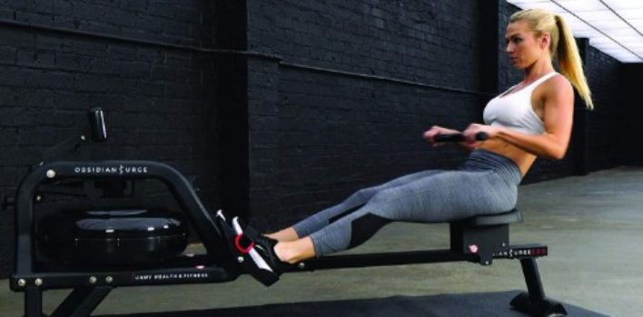 Sunny Health & Fitness SF-RW5713 Water Rowing Machine review.