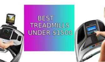 Top 10 Best Treadmills Under 1500 Dollars | Updated Picks for 2019