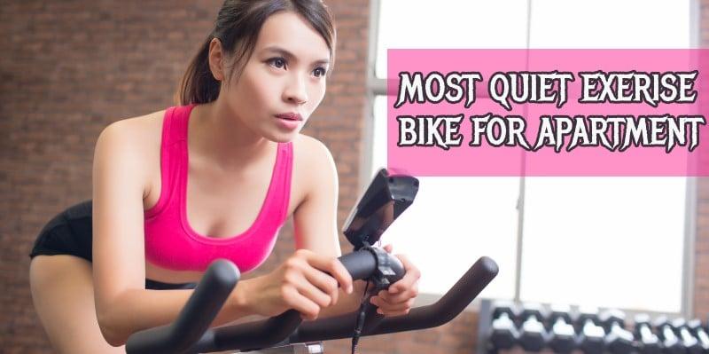 quiet exercise bike for apartment