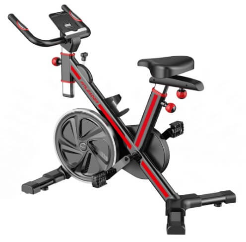 Fitleader FS1 Stationary Indoor Spin Exercise Bike