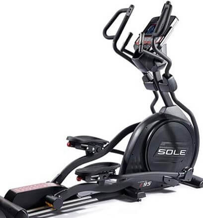 Elliptical with 400 lb weight capacity
