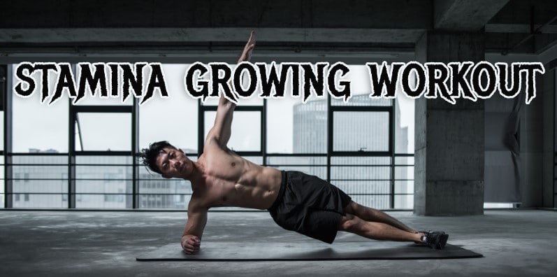 stamina growing workout