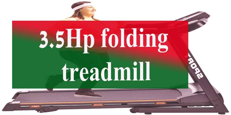 3.5HP Folding Treadmill