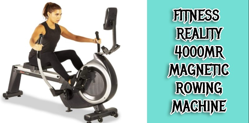 Fitness Reality 4000MR Magnetic Rower
