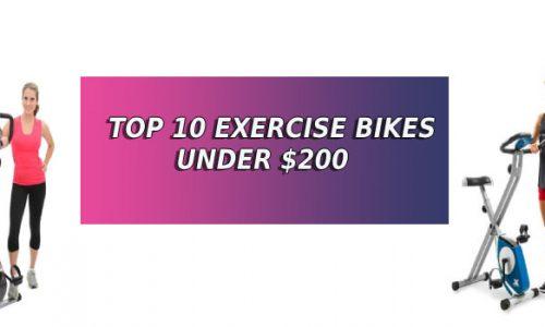 Best exercise bikes under 200